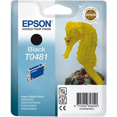 Epson C13T04814010 Black T0481 Ink Cartridge (13ml)