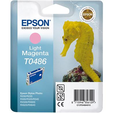 Epson C13T04864010 Light Magenta T0486 Ink Cartridge (13ml)