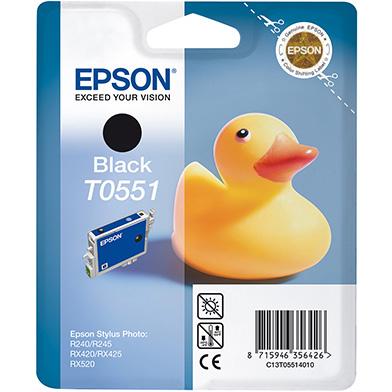 Epson C13T05514010 Black T0551 Ink Cartridge (8ml)