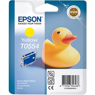 Epson C13T05544010 Yellow T0554 Ink Cartridge (8ml)