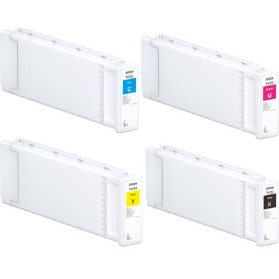 Epson EPST41EVAL T41E UltraChrome XD2 Ink Cartridge Value Pack CMYK (700ml x 4)