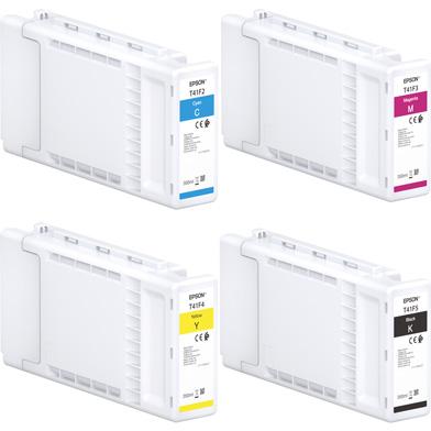 Epson EPST41FVAL T41F UltraChrome XD2 Ink Cartridge Value Pack CMYK (350ml x 4)