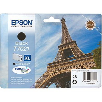 Epson C13T70214010 T7021 Black XL Ink Cartridge (2,400 Pages)