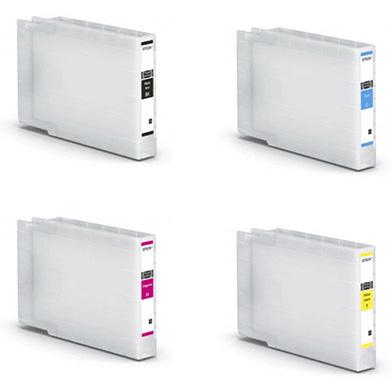 Epson wf-c8xxxXLValuePack XL Ink Cartridge Value Pack K (5,800 Pages) CMY (4,600 Pages)
