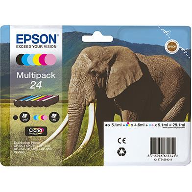 Epson 24 6 Colour Ink Cartridge Multipack