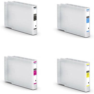 Epson wf-c8xxxXXLValuePack XXL Ink Cartridge Value Pack K (11,500 Pages) CMY (8,000 Pages)