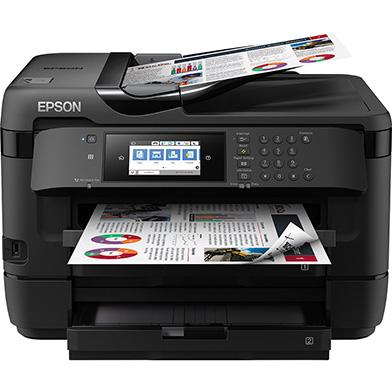Epson WorkForce WF-7720DTWF + High Capacity Black Ink Cartridge (1,100 Pages)