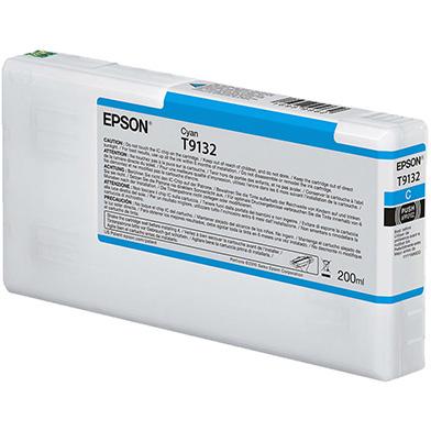 Epson C13T913200 T9132 Cyan Ink Cartridge (200ml)