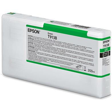 Epson C13T913B00 T913B Green Ink Cartridge (200ml)
