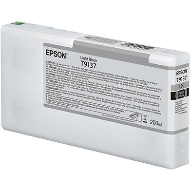 Epson C13T913700 T9137 Light Black Ink Cartridge (200ml)