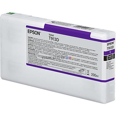 Epson C13T913D00 T913D Violet Ink Cartridge (200ml)
