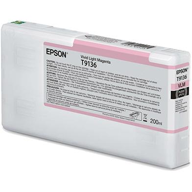 Epson C13T913600 T9136 Vivid Light Magenta Ink Cartridge (200ml)