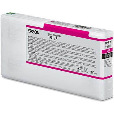 Epson C13T913300 T9133 Vivid Magenta Ink Cartridge (200ml)