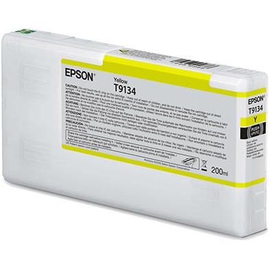 Epson C13T913400 T9134 Yellow Ink Cartridge (200ml)