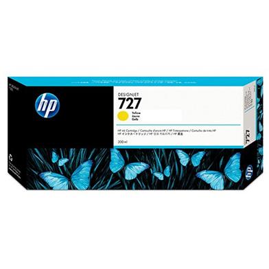 HP F9J78A 727 Yellow DesignJet Ink Cartridge (300ml)