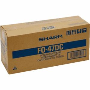 Sharp FO-47DC Black Toner Cartridge (6,000 Pages)