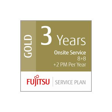 Fujitsu 3 Year Gold Service Plan