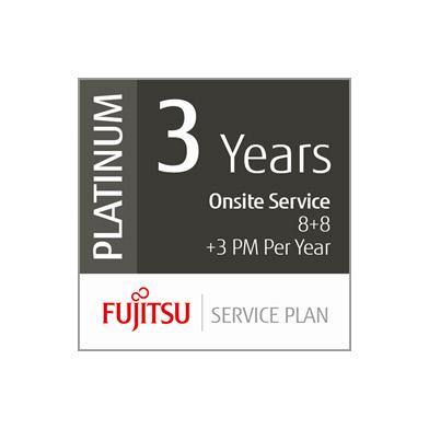 Fujitsu U3-PLAT-MVP 3 Year Platinum Service Plan