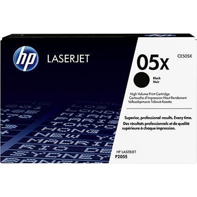 HP CE505X 05X Black Print Cartridge (6,500 pages)