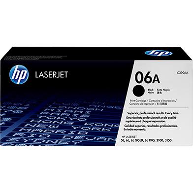 HP C3906A 06A Black Toner  (2,500 pages)