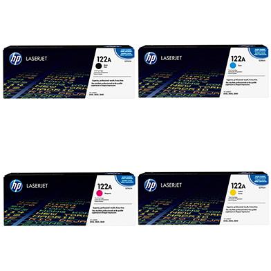 HP  122A Toner Rainbow Pack CMY (4k) + Black (5K)