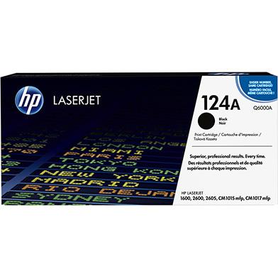 HP Q6000A 124A Black Toner Cartridge (2,500 pages)