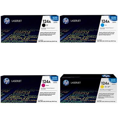 HP  Toner Rainbow Pack CMY (2k) + Black (2.5K)