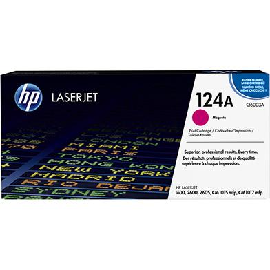 HP Q6003A 124A Magenta Toner Cartridge (2,000 pages)