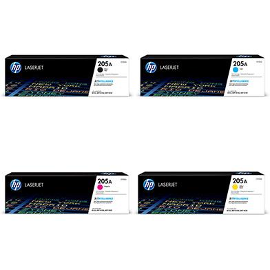HP 205A Standard Toner Value Pack CMY (900 Pages) K (1.1K)