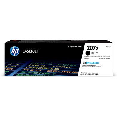 HP 207X High Capacity Black Toner Cartridge (3,150 Pages)