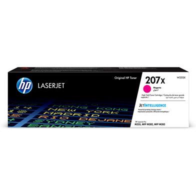 HP W2213X 207X High Capacity Magenta Toner Cartridge (2,450 Pages)