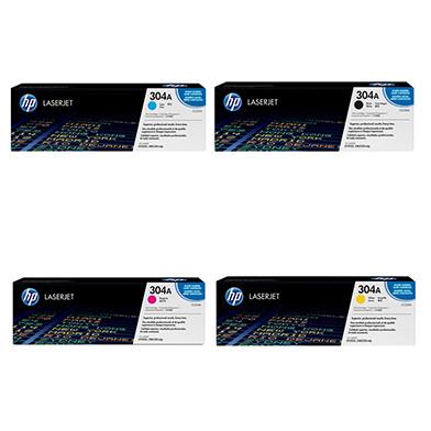 HP  304A Toner Value Pack 3.5k Black 2.8k CMY