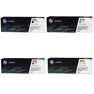 HP  312X/312A Toner Rainbow Pack CMY(2.7k) K(4.4k)