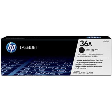 HP CB436A 36A LaserJet Smart Black Print Cartridge (2,000 pages)