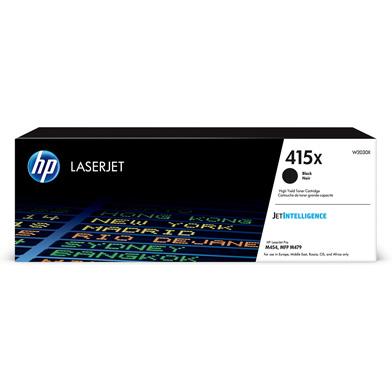 HP W2030X 415X Black High Yield Toner Cartridge (7,500 Pages)