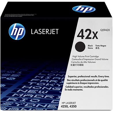 HP Q5942X 42X Black LaserJet Print Cartridge (20,000 pages)