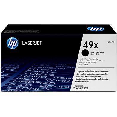 HP Q5949X 49x Black Toner Cartridge (6,000 pages)