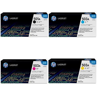 HP  501A/503A Toner Value Pack 6k (CMYK)