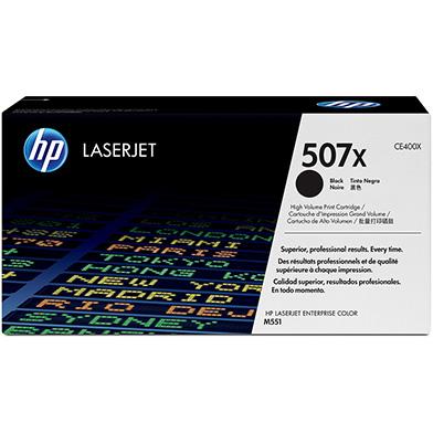 HP CE400X 507X Hi-Cap Black Toner Cartridge (11,000 pages)