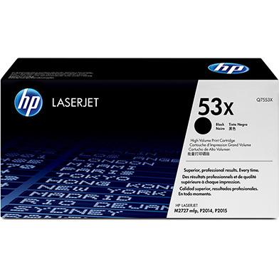 HP Q7553X 53x LaserJet Black Print Cartridge (7,000 pages)
