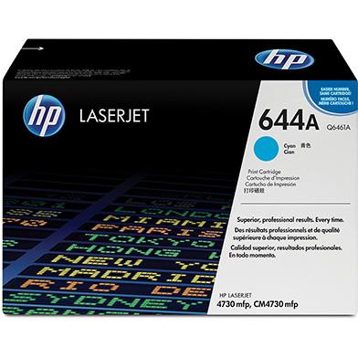 HP Q6461A 644A Cyan Print Cartridge (12,000 pages)