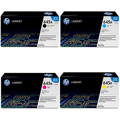 HP  645A Toner Rainbow Pack CMY (12k) + Black (13k)