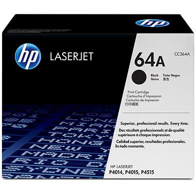 HP CC364A 64A Black Print Cartridge (10,000 pages)