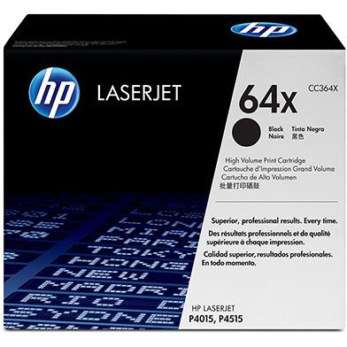 HP CC364X 64X Black Print Cartridge (24,000 pages)