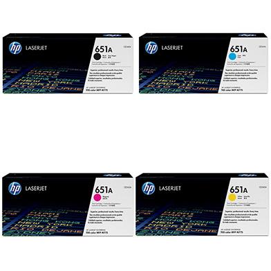 HP  651A Toner Rainbow Pack CMY(16k) K(13.5k)