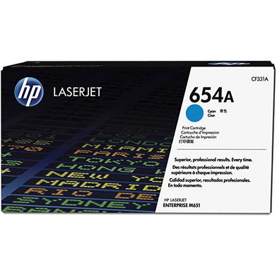 HP CF331A 654A Cyan Toner Cartridge (15,000 pages)