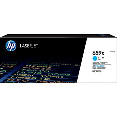 HP 659X High Yield Cyan Toner Cartridge (29,000 Pages)