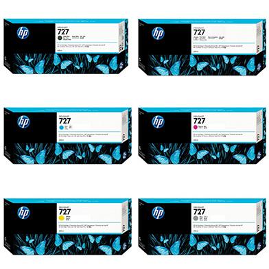 HP HP727INKVAL300 727 Ink Cartridge Value Pack (300ml x 6)