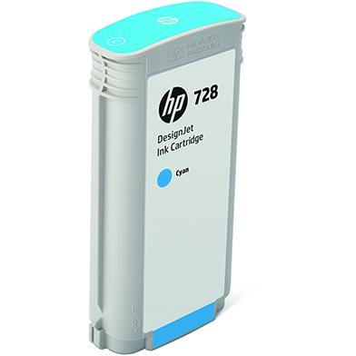 HP F9J67A 728 Cyan Ink Cartridge (130ml)