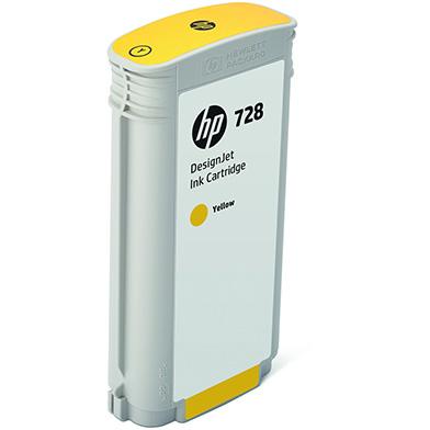 HP F9J65A 728 Yellow Ink Cartridge (130ml)